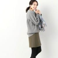 甘さ控えめ♡ヒザ上スカートで作る女っぽコーデ15選