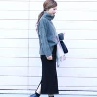 2017秋冬は長めタイトスカートがおすすめ!大人女子のタイトスカートコーデ16選♡