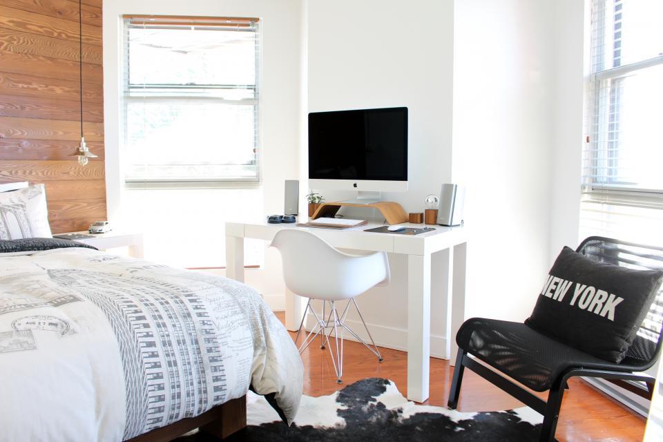 インテリアレイアウト③部屋で仕事ができる空間作り4