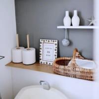 みんなどうしてる?スッキリ綺麗な〈トイレ〉の収納&インテリア特集♡