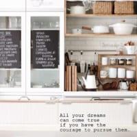 おうちを素敵なカフェ空間に。黒板DIY&インテリア実例集