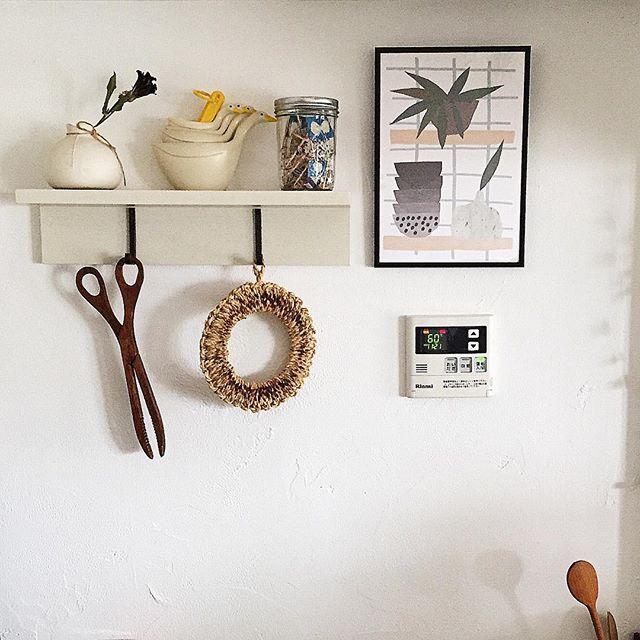 賃貸 壁面 棚収納 無印良品 壁につけられる家具2