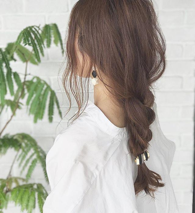 簡単なのにこなれ感たっぷりまとめ髪10