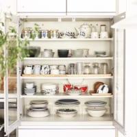 上手な食器収納方法もご紹介☆おしゃれな食器棚のあるキッチン!