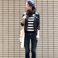 寒いシーズンのおしゃれアイテム☆ユニクロのマフラーを使った大人女子の冬コーデ☆