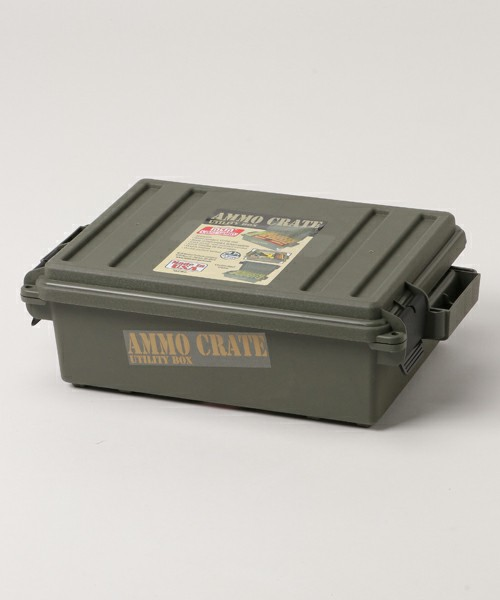 [ZOZOOUTDOOR] MILITARY/AMMO CRATE BOX
