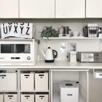 キッチンをおしゃれにプチリフォーム☆賃貸でもできるDIY&収納アイディア