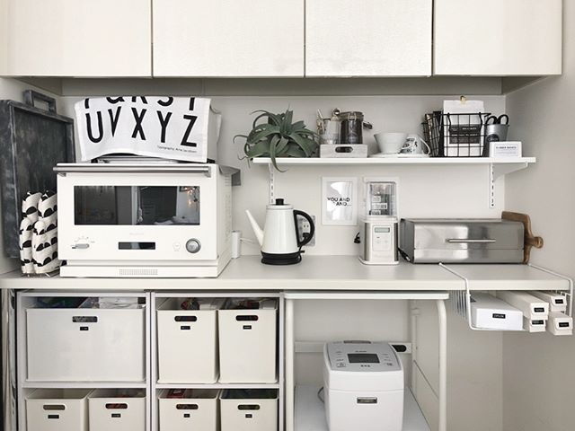 賃貸 壁面 棚収納 ニトリ カラーボックス3