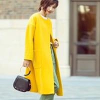 春の訪れを待っていられない!〝春カラー〟のコートで季節を先取り☆