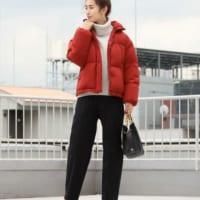 本格的な寒さにはダウンジャケット!防寒しながらおしゃれも楽しむ冬に。