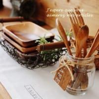 木の器のある暮らし☆実用的な使い方とおしゃれなテーブルコーディネート