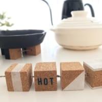 セリアで可愛いくて実用的♫簡単リメイクで作るキッチンアイテム
