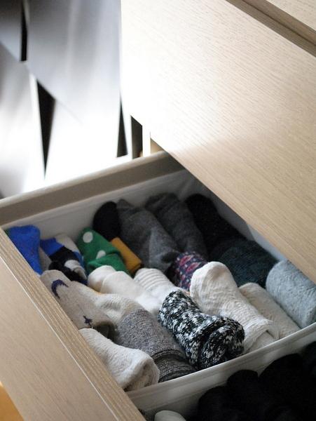靴下のたたみ方&収納実例をご紹介26