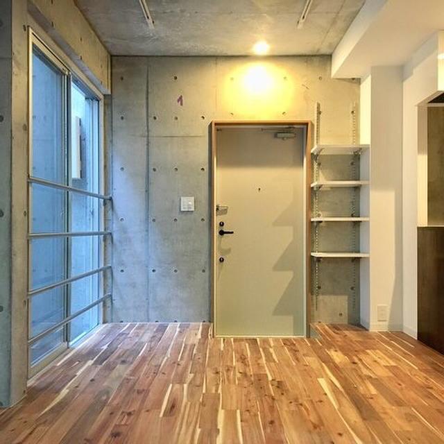 賃貸 壁面 棚収納 作り付け2