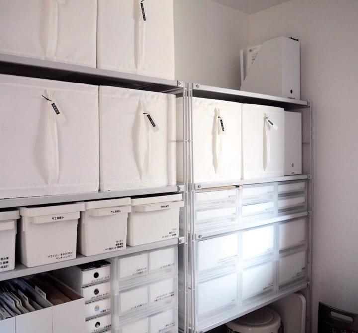 賃貸 壁面 棚収納 無印良品 ユニットシェルフ2