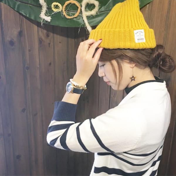 帽子をかぶっている際のヘアアレンジ特集27