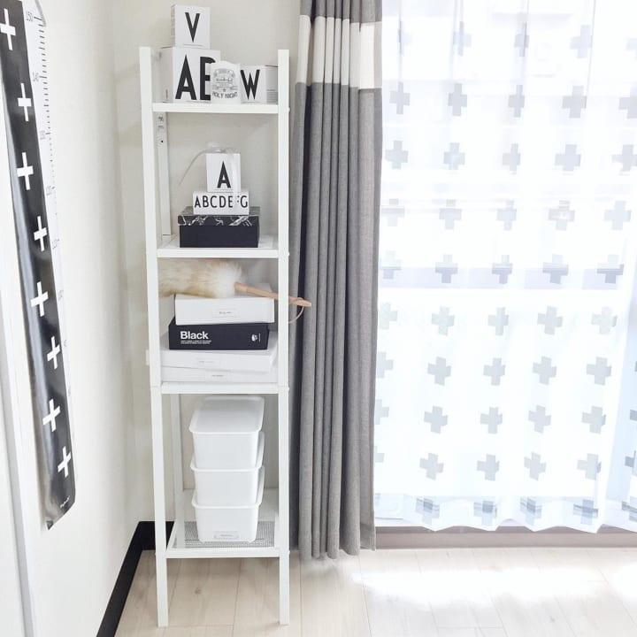 賃貸 壁面 棚収納 IKEA シェルフユニット