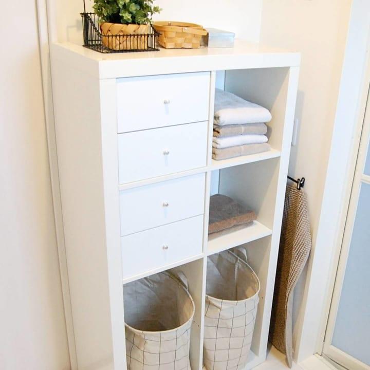 賃貸 壁面 棚収納 IKEA カラックス