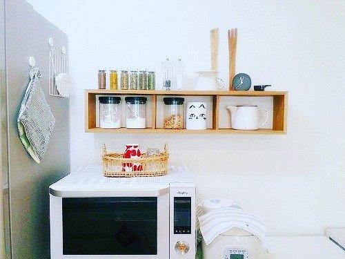 無印良品おすすめ収納アイテム⑥ 壁に付けられる家具実例1