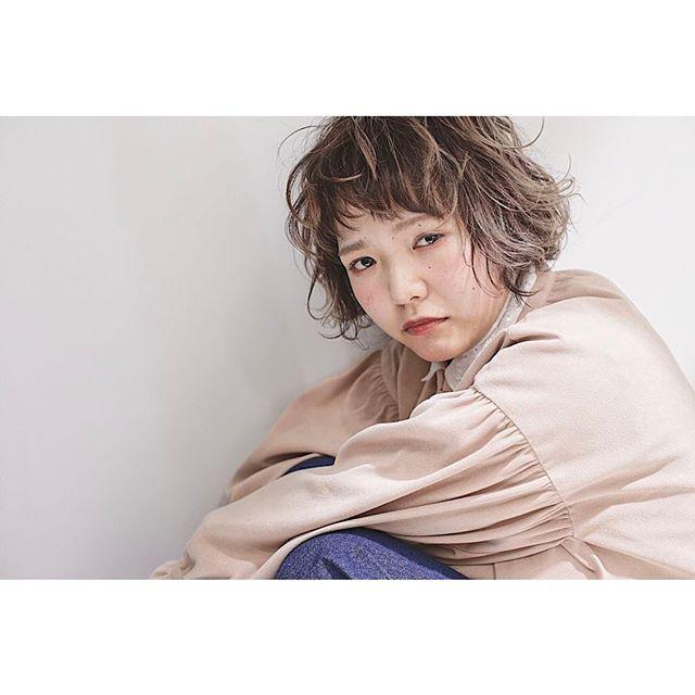 【顔タイプ別】ぱっつん前髪ヘアスタイル14