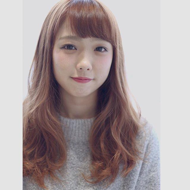 【顔タイプ別】ぱっつん前髪ヘアスタイル5