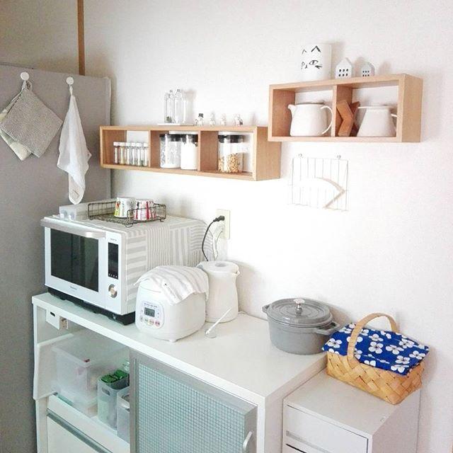 無印良品おすすめ収納アイテム⑥ 壁に付けられる家具実例2