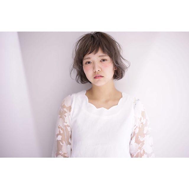 【顔タイプ別】ぱっつん前髪ヘアスタイル15