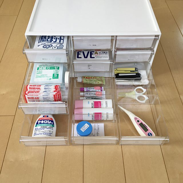 お薬・衛生用品収納4