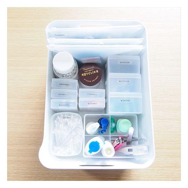 お薬・衛生用品収納2