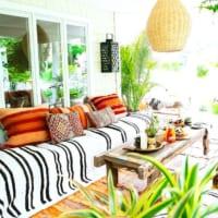 緑たくさんの癒し空間☆海外の居心地の良いテラス・バルコニー・中庭15選