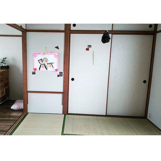 団地の和室がカッコいい洋室の子供部屋に!3