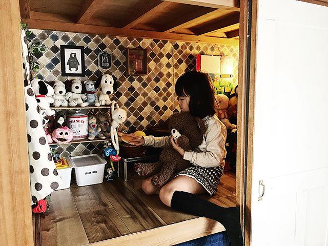 団地の和室がカッコいい洋室の子供部屋に!5