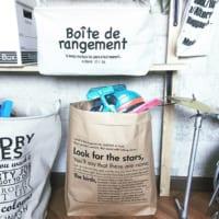 【キャンドゥ&セリア】プチプラで使い勝手抜群のペーパーバッグ収納アイディア