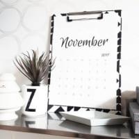 飾り方を一工夫!カレンダーをおしゃれにディスプレイしてみませんか?