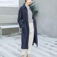 ONもOFFも大活躍のコート!季節の変わり目はステンカラーコートを着まわそう☆
