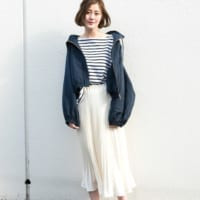 爽やか大人ガーリーを作るなら♡ホワイトのプリーツスカート特集!