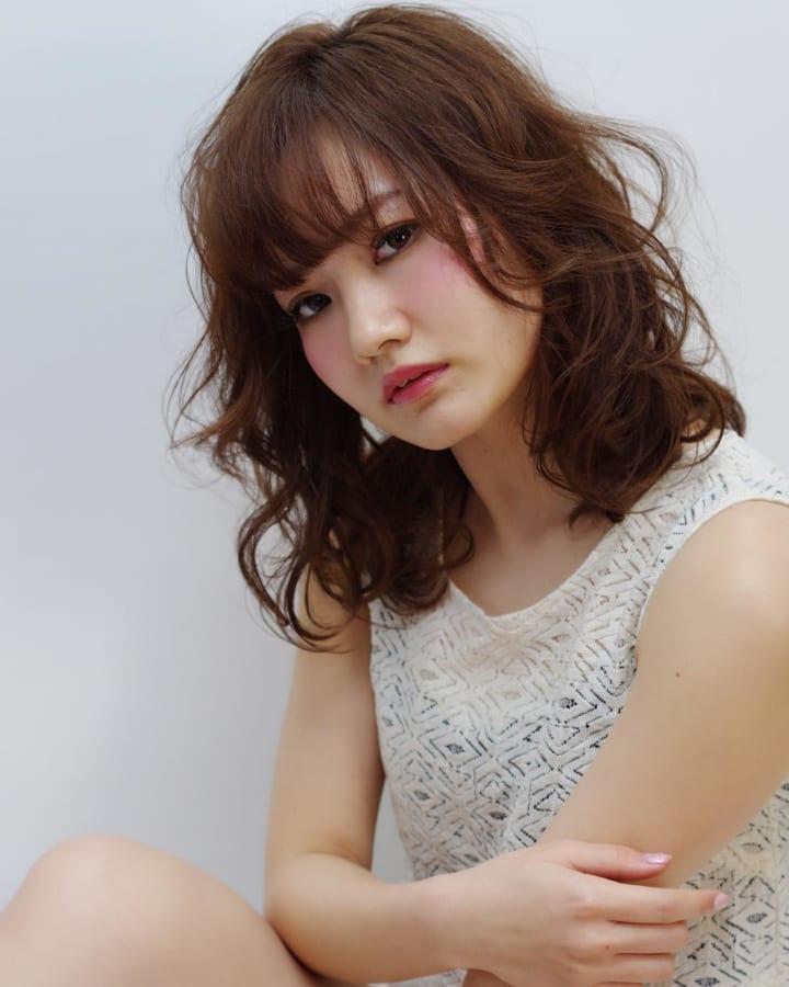 ミディアムパーマアレンジ特集☆40