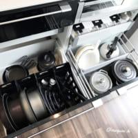 キッチン収納のお悩み解決◎「シンク下・コンロ下」の深い引き出し収納術♡