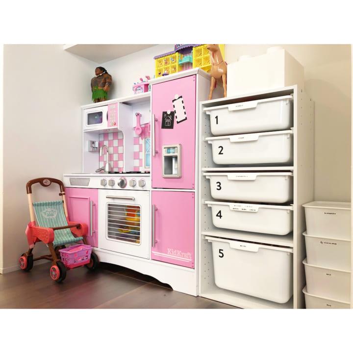 おもちゃ収納 収納2
