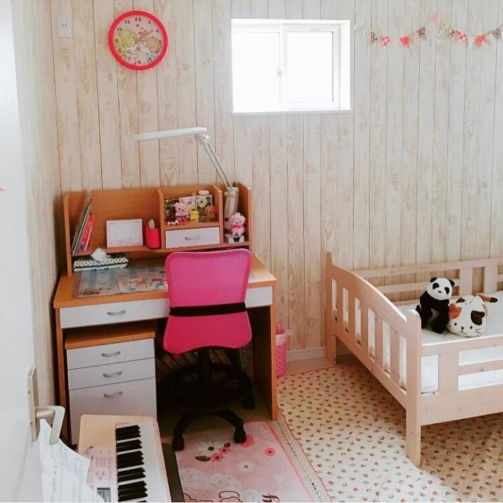 子ども部屋にぬいぐるみを収納16