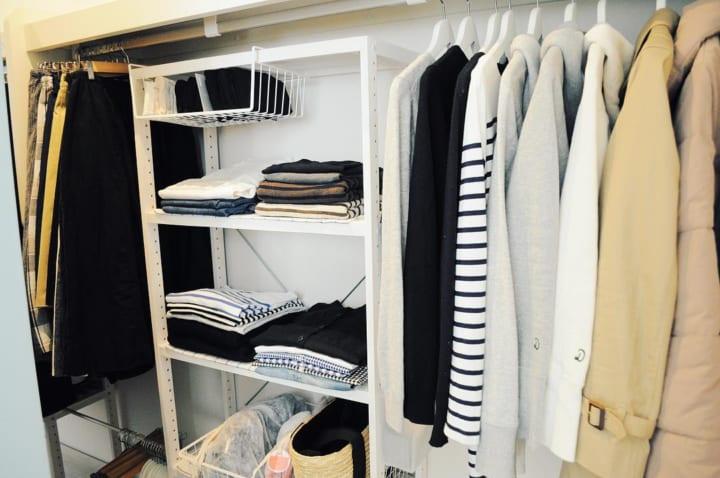 「衣類収納」に役立つアイテム&収納術!18