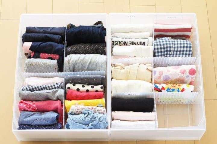 「衣類収納」に役立つアイテム&収納術!14