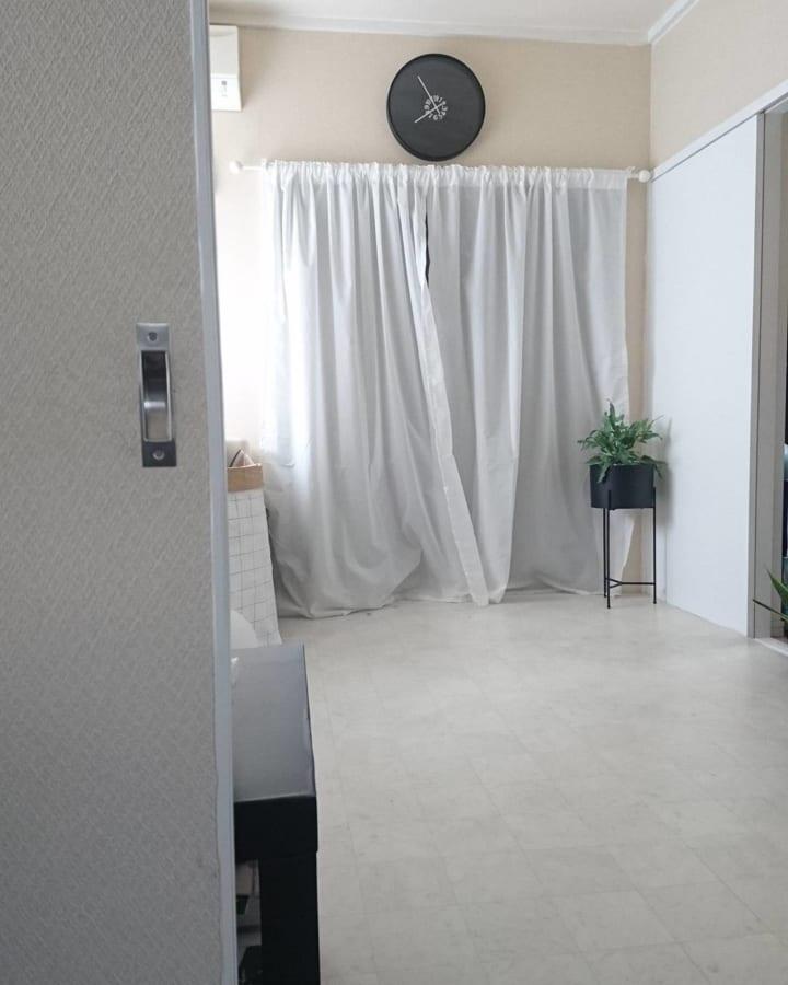 築6年の和室を洋風モノトーン部屋に2