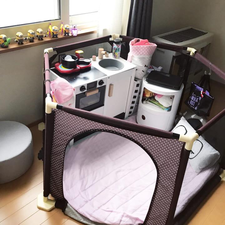 子ども部屋にぬいぐるみを収納3