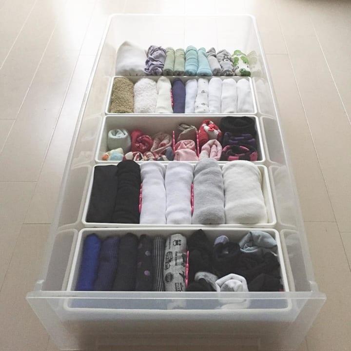 「衣類収納」に役立つアイテム&収納術!9