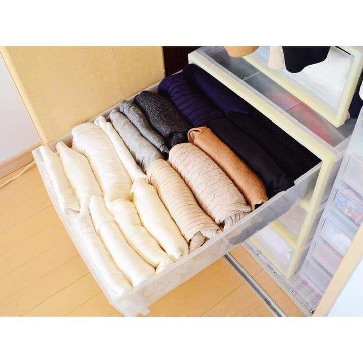 「衣類収納」に役立つアイテム&収納術!7