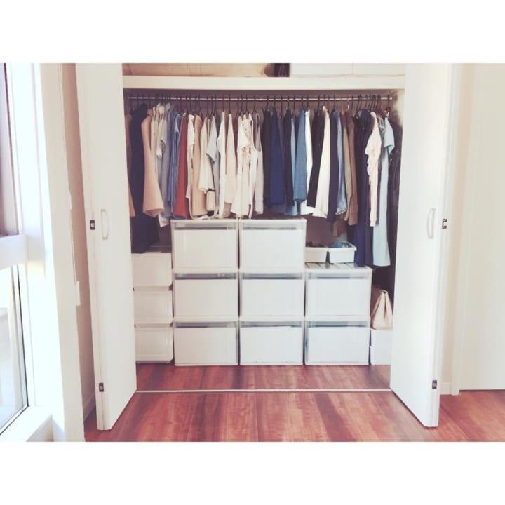 「衣類収納」に役立つアイテム&収納術!5