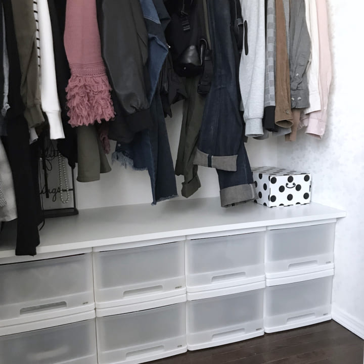 「衣類収納」に役立つアイテム&収納術!4