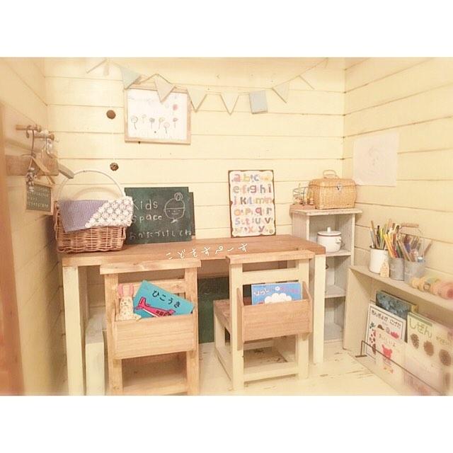 教室風のキッズスペース