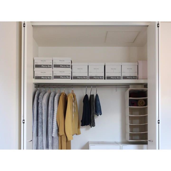 「衣類収納」に役立つアイテム&収納術!1